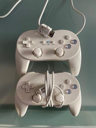 Mandos para Wii.