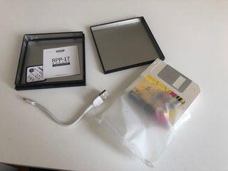 Bateria portátil retro