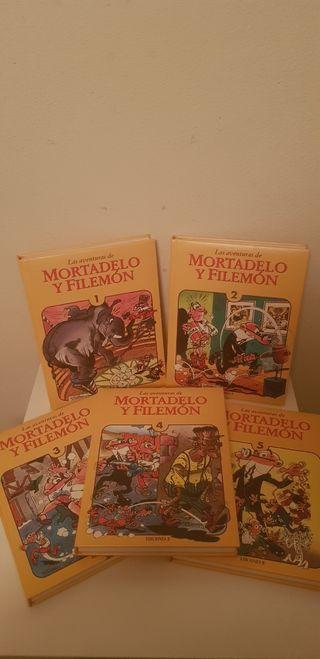 Coleccion Las aventuras de Mortadelo y filemón