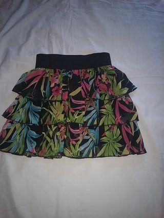 falda niña