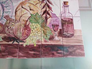 Bodegón Mural Azulejos.