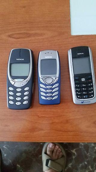 móviles antiguos totalmente funcionales-nokia
