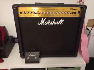 amplificador de guitarra Marshall MG 100 DFX