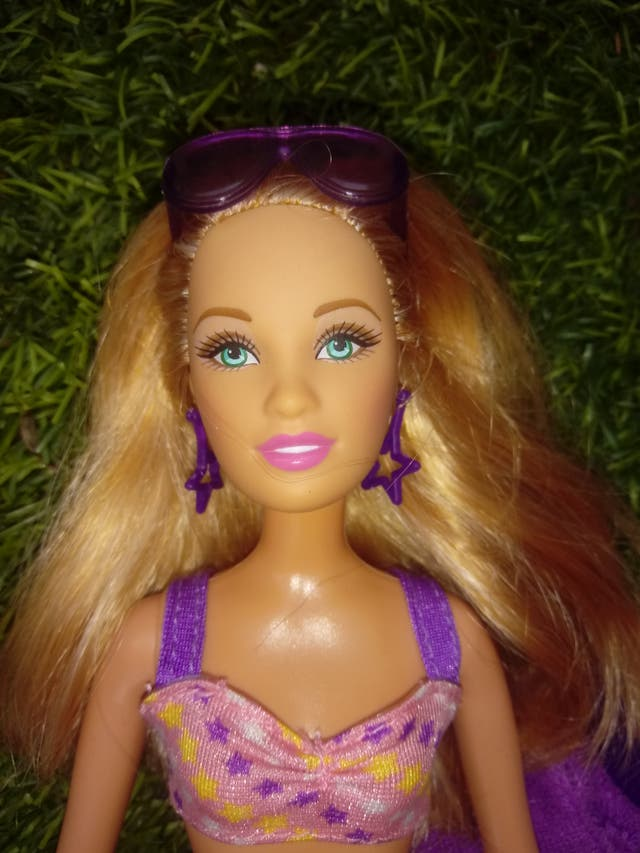 Barbie Beach Doll Pink