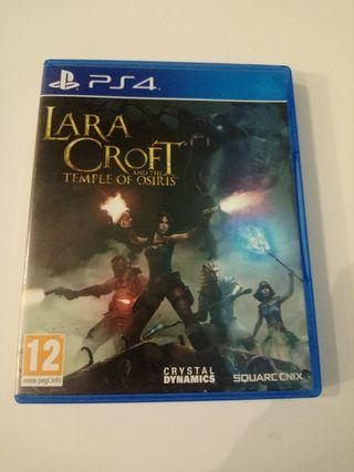 Lara Croft Ps4