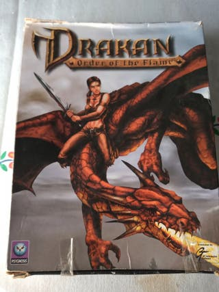 Juego Pc Drakan order of the flame