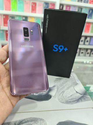 S9 PLUS 64 GB CON CAJA ( CÓMO NUEVO)