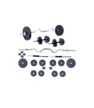 Set de Body Pump, Juego de pesas 30 KG con barra y