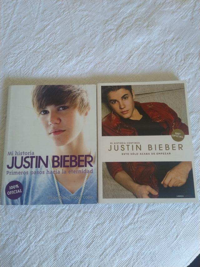 Libros y discos Justin Biever
