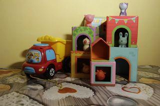 Camion juguete y juego