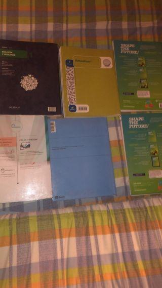 libros 1 bachillerato ciencias