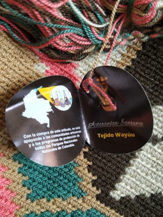 Bolso Wayúu SIN ESTRENAR
