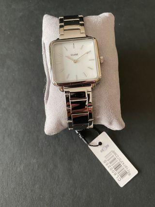 Reloj Cluse señora eslabones plateados