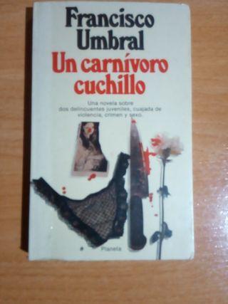 Un carnívoro cuchillo, libro