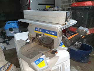 Virutex tm33l ingletadora sierra mesa profesional