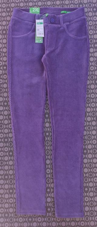 Pantalón elástico micropana Benetton T 11/12