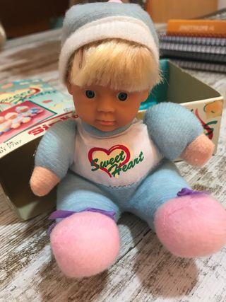 Antiguo muñeco años 80 no nancy, marca SIMBA