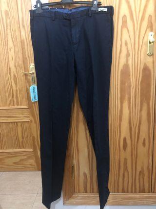 Pantalones azul marino de Paul&Shark