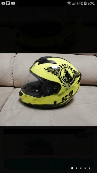 casco moto SL2 con bluetooth y gopro