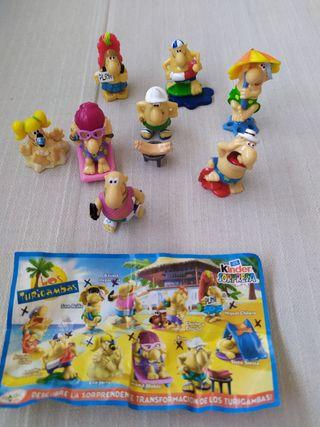 Figuras huevos Kinder - Turigambas