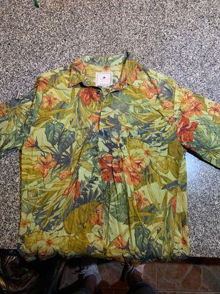 Camisa estampado de flores italiana