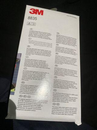 New 3M FFP3 8835 Box of 5 -N95 N99 FFP3 Face Mask