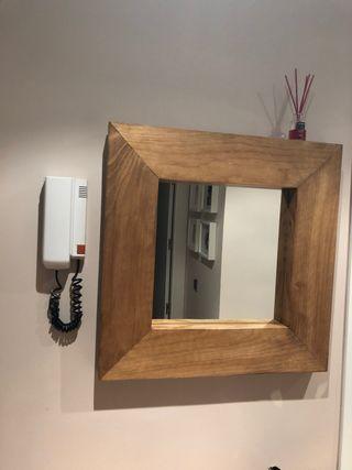 Mueble Zapatero con espejo para entrada