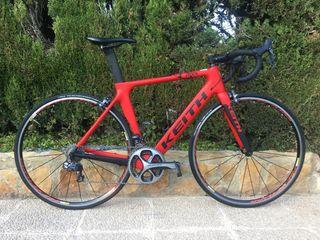 Bicicleta de carretera Keith Ares carbono
