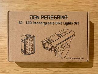 Luces Bicicleta Delantera y Trasera USB