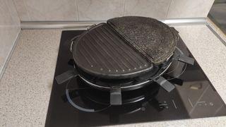 plancha piedra y grill