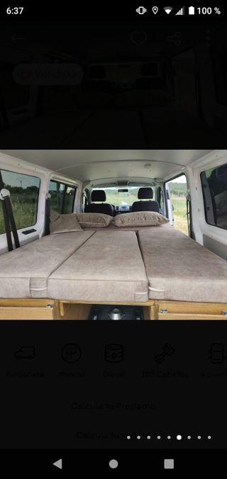 colchón y armarios para Volkswagen Transporter