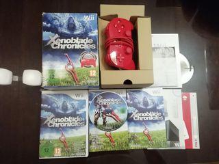 Xenoblade Chronicles Edición Limitada Mando Rojo