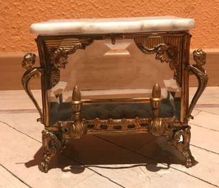 Joyero, cofre francés Napoleon III,