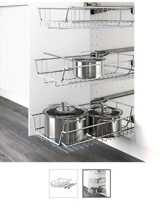 Cestas extraíbles cocina/armario. Tengo 2