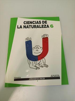 Libro de Ciencias de la Naturaleza 6° Primaria Edi