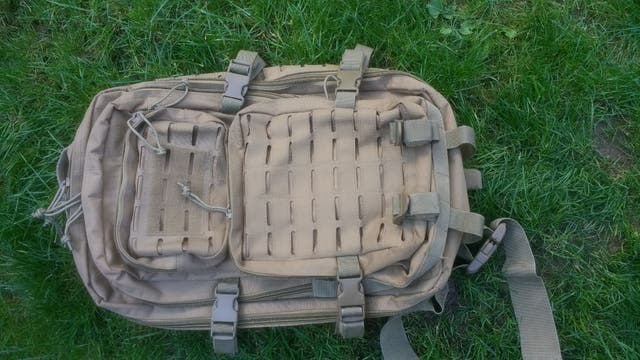 Tactical Backpack Lazer Cut Molle 36L
