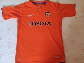 Camiseta Valencia firmada David Villa
