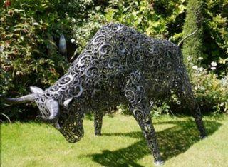 Gran escultura de jardín