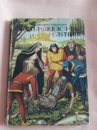 Doña Urraca de Castilla, Navarro Villoslada