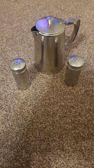house hold tea pot STEEL