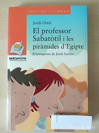 El professor Sabatòtil i les piràmides d'Egipte