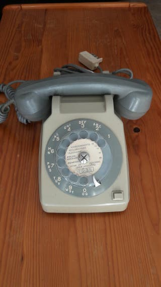 telefono vintage Francia alcatel