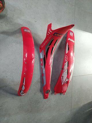 kit plásticos moto trial