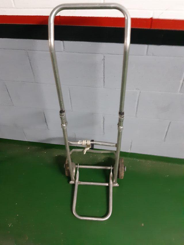 carretilla plegable de aluminio