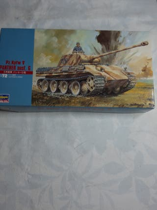 maqueta 1/72 pabther ausf g
