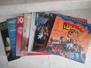 Lote de 8 discos de vinilo LPs