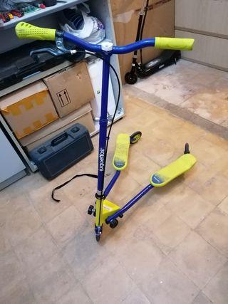 patinete 3 ruedas regulable en alturas