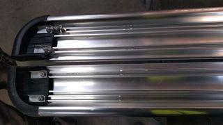 Estribos VW Amarok Doble cabina aluminio