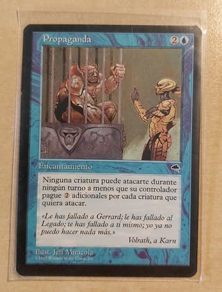 Carta Magic - Propaganda, serie Tempestad