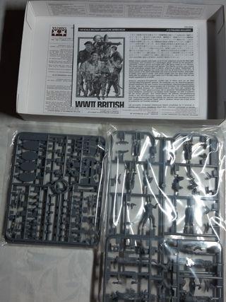 figuras 1/48 soldados britanicos